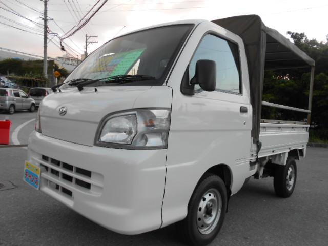 沖縄の中古車 ダイハツ ハイゼットトラック 車両価格 52万円 リ済込 2013(平成25)年 10.9万km ホワイト