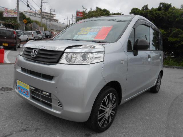 沖縄の中古車 ホンダ ライフ 車両価格 35万円 リ済込 2011(平成23)年 3.4万km グレー