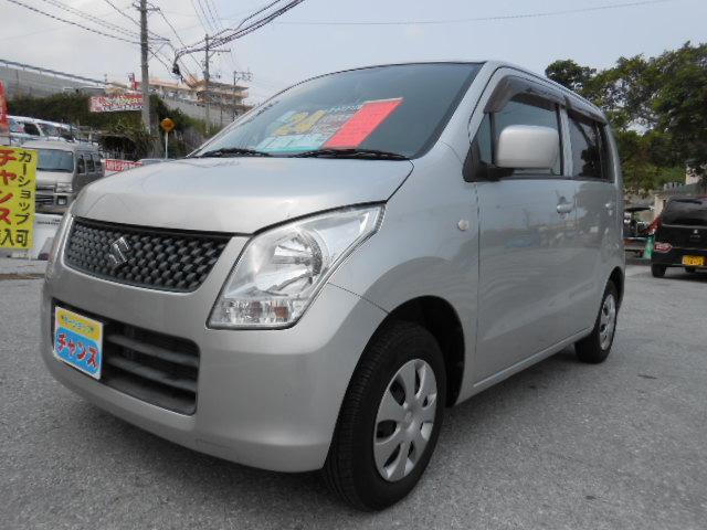 沖縄の中古車 スズキ ワゴンR 車両価格 26万円 リ済込 2011(平成23)年 11.2万km グレー