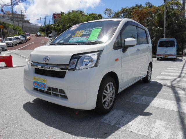 沖縄の中古車 ダイハツ ムーヴ 車両価格 36万円 リ済込 2013(平成25)年 10.8万km ホワイト