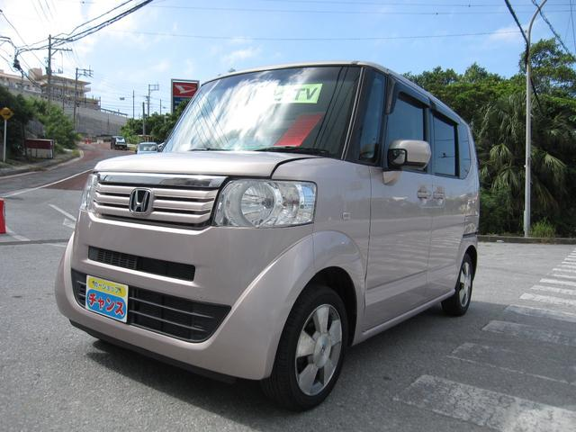 沖縄の中古車 ホンダ N-BOX 車両価格 65万円 リ済込 2012(平成24)年 5.6万km ピンク