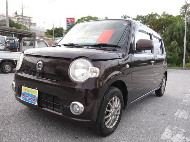 沖縄の中古車 ダイハツ ミラココア 車両価格 43万円 リ済込 2010(平成22)年 4.2万km ブラウン
