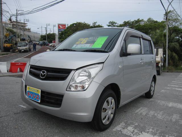 沖縄の中古車 マツダ AZワゴン 車両価格 25万円 リ済込 2012(平成24)年 10.1万km グレー