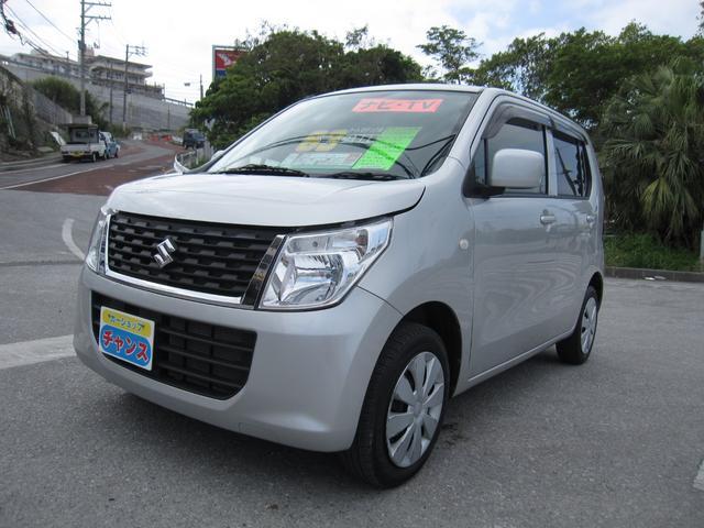 沖縄の中古車 スズキ ワゴンR 車両価格 60万円 リ済込 2016(平成28)年 3.6万km グレー