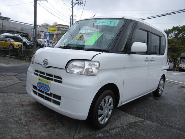 沖縄の中古車 ダイハツ タント 車両価格 53万円 リ済込 2012(平成24)年 4.1万km ホワイト