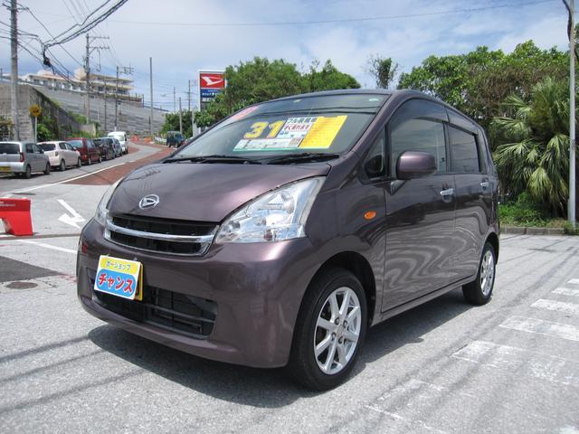 沖縄の中古車 ダイハツ ムーヴ 車両価格 30万円 リ済込 2011(平成23)年 10.4万km ブラウン