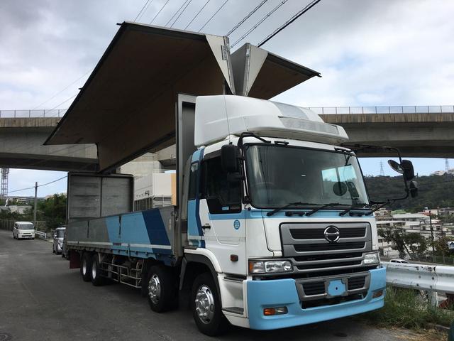 沖縄の中古車 日野 プロフィア 車両価格 250万円 リ済込 2003(平成15)年 84.7万km ホワイト
