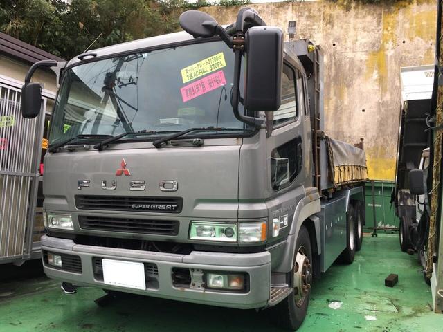 沖縄県の中古車ならスーパーグレート ベースグレード ダンプ 370馬力
