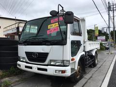 沖縄の中古車 日産ディーゼル コンドル 車両価格 230万円 リ済込 平成17年 20.3万K ホワイト