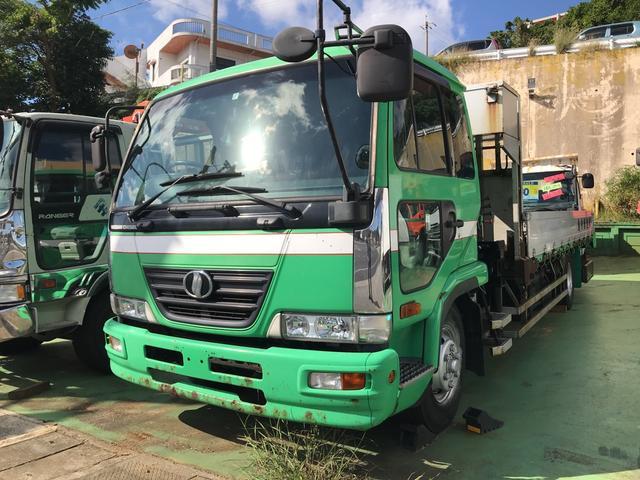 沖縄県の中古車ならコンドル アルミ平ボディ 4段クレーン MK36B