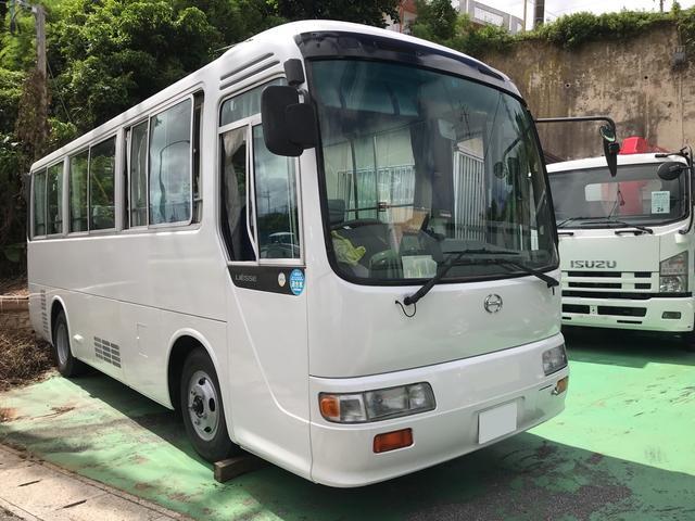 沖縄の中古車 日野 リエッセ 車両価格 350万円 リ済込 1999(平成11)年 15.0万km ホワイト