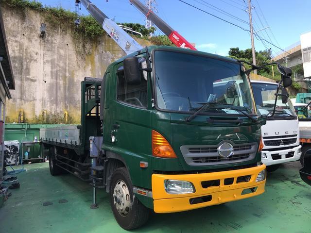 沖縄の中古車 日野 レンジャー 車両価格 350万円 リ済込 2006(平成18)年 56.0万km グリーンII