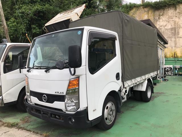 沖縄の中古車 日産 アトラストラック 車両価格 129万円 リ済込 2007(平成19)年 29.0万km ホワイト