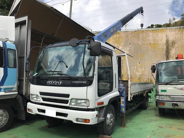 沖縄の中古車 いすゞ フォワード 車両価格 380万円 リ済込 2006(平成18)年 46.7万km ホワイト
