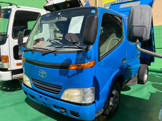沖縄の中古車 トヨタ ダイナトラック 車両価格 189万円 リ済込 2000(平成12)年 19.3万km ブルーM