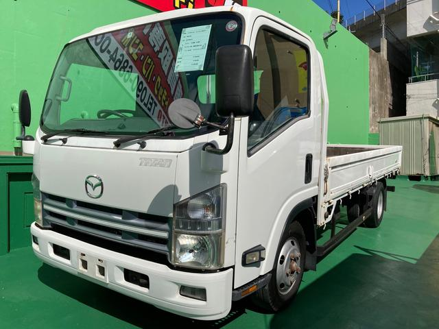 沖縄の中古車 マツダ タイタントラック 車両価格 149万円 リ済込 2007(平成19)年 32.4万km ホワイト