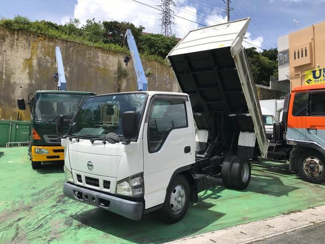 沖縄の中古車 日産 アトラストラック 車両価格 149万円 リ済込 2006(平成18)年 12.0万km ホワイト
