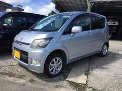 沖縄の中古車 ダイハツ ムーヴ 車両価格 33万円 リ済込 平成18年 12.3万K シルバー