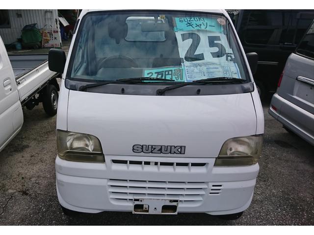 沖縄県糸満市の中古車ならキャリイトラック KU 三方開