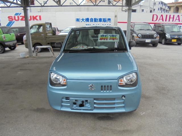 沖縄の中古車 スズキ アルト 車両価格 92万円 リ未 新車  ブルーM