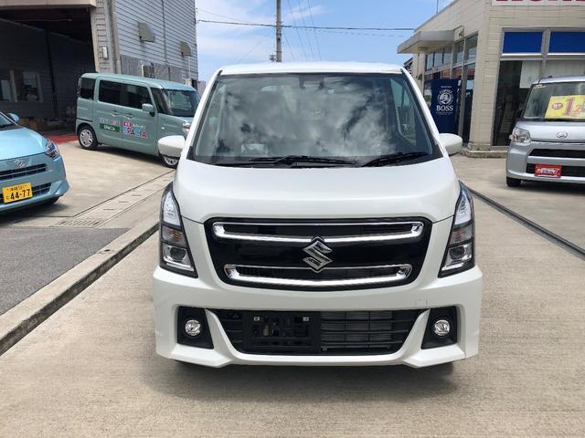 沖縄の中古車 スズキ ワゴンRスティングレー 車両価格 148万円 リ未 新車  ピュアホワイトパール
