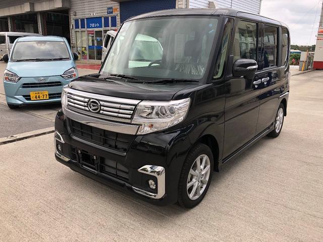 沖縄の中古車 ダイハツ タント 車両価格 152万円 リ未 新車  ブラックマイカM