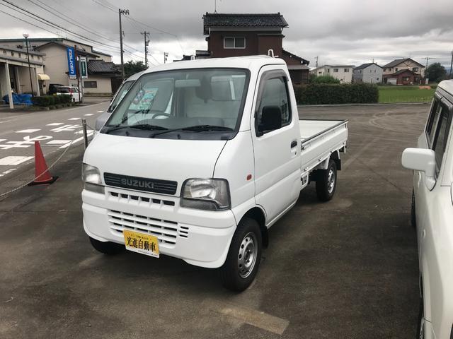 スズキ KU エアコン・パワステ付 4WD