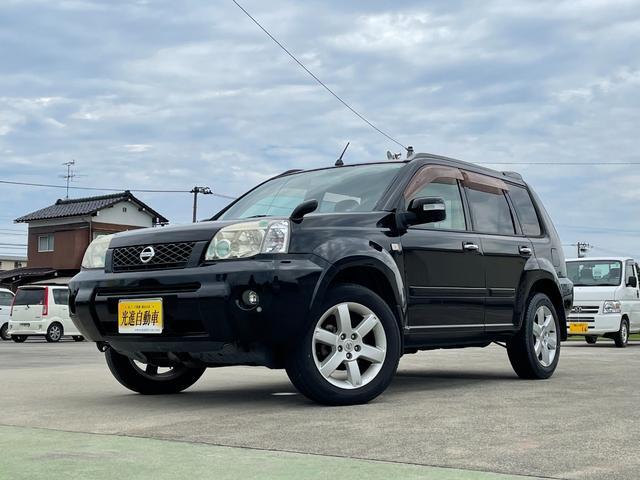 日産 エクストレイル S 切替4WD・ETC・ナビ・Bカメラ・コーナーセンサー