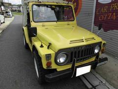 ジムニー幌タイプ 4WD ウッドハンドル 4速マニュアル 背面タイヤ