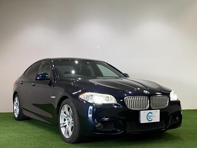 BMW 5シリーズ アクティブハイブリッド5 Mスポーツパッケージ 黒革シート シートヒーター パドルシフト コーナーセンサー HDDナビフルセグTV バックカメラ 禁煙車