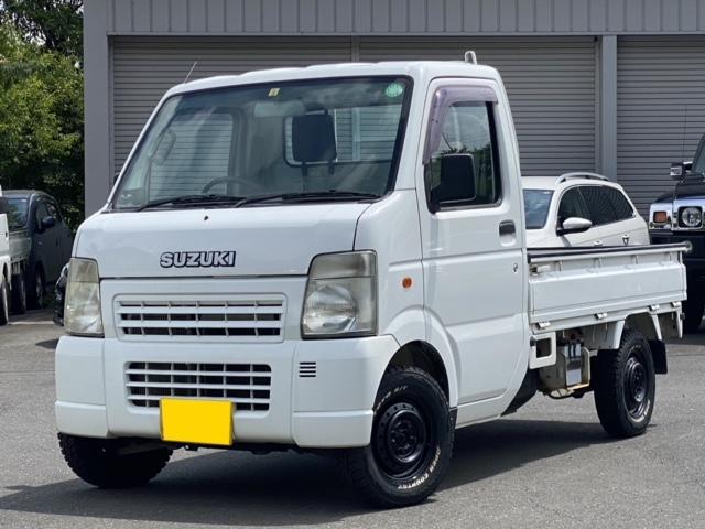 スズキ KCエアコン・パワステ 3方開 4WD