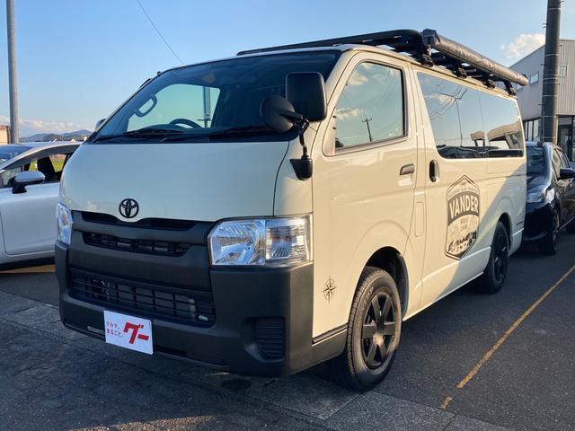 トヨタ DX 4WD ディーゼルターボ オリジナルモバイルリビングカー メモリーナビ フルセグTV バックカメラ Bluetooth対応 ETC キーレス ルーフキャリア タープ