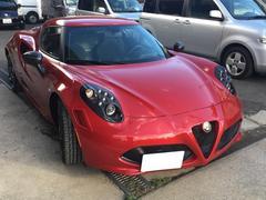 アルファロメオ 4Cローンチエディション 限定車