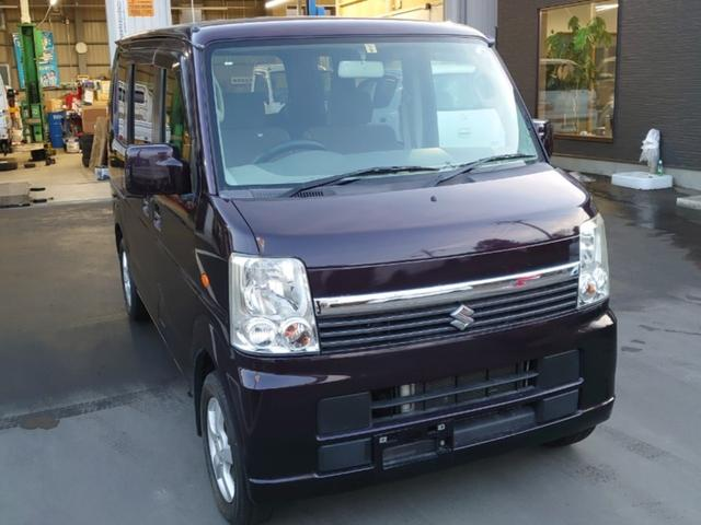 スズキ エブリイワゴン JP 4WD 3AT CD
