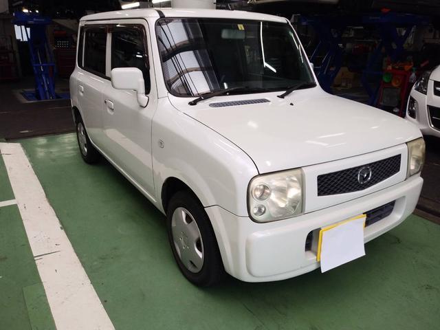 マツダ スピアーノ  軽自動車 ETC ホワイト AT AC 4名乗り