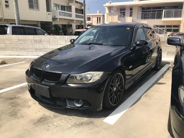 沖縄の中古車 BMW 3シリーズ 車両価格 98万円 リ済別 2006(平成18)年 9.7万km ブラックM