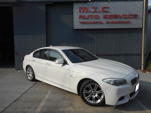 BMW 5シリーズ 528i Mスポーツパッケージ 左ハンドル