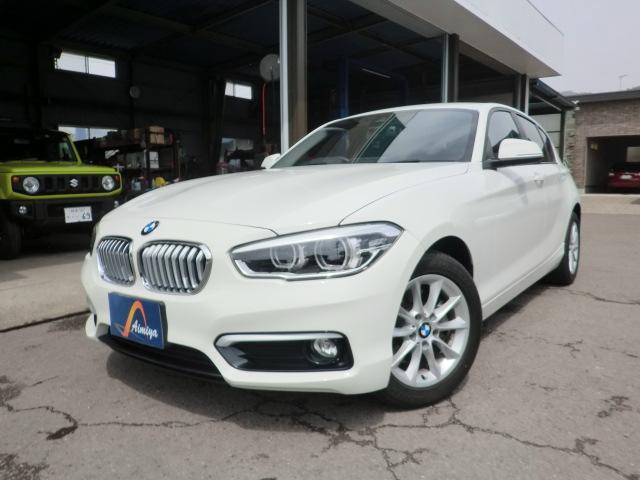 BMW 118i スタイル メーカーナビ・バックモニター・LEDヘッドライト・ハーフレザーシート・インテリジェントセーフティ
