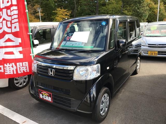 ホンダ G 軽自動車 クリスタルブラックパール CVT AC
