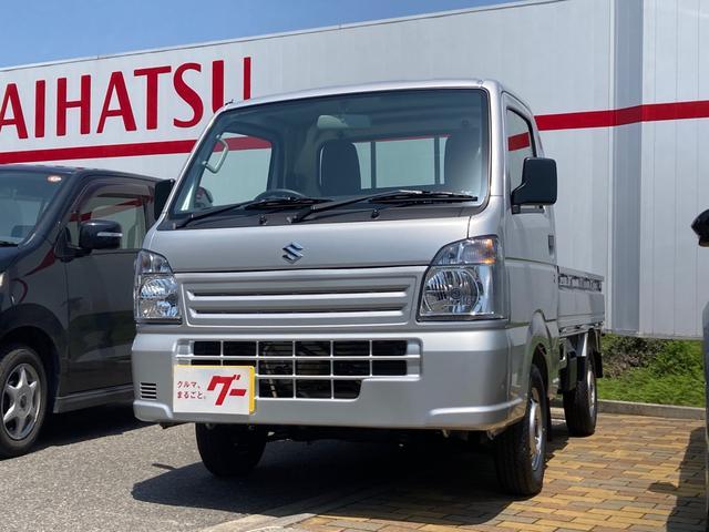 スズキ キャリイトラック KCエアコン・パワステ 4WD エアコン 5速MT 軽トラック