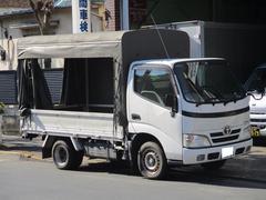 ダイナトラック1.5t積 ホロ幌 三方開 サイドカーテン FMAMラジオ!