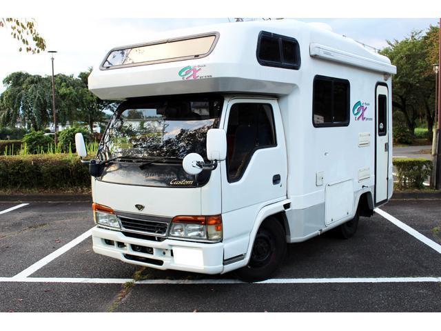 エルフトラック キャンピングカー