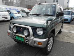 パジェロミニXR−II 4WD 5MT CD 車検時タイヤ交換済み