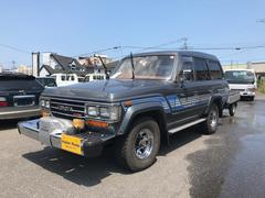 ランドクルーザー60VX ディーゼルターボ ハイルーフ 4ナンバートレーラー付