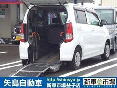 ワゴンRウィズ・車いす移動車・スローパー・後席付属・電動固定式