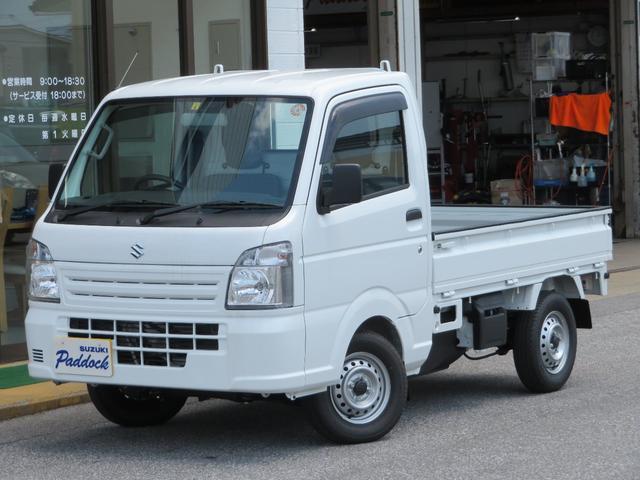 スズキ KCエアコン・パワステ 4WD 5MT パワステ エアコン