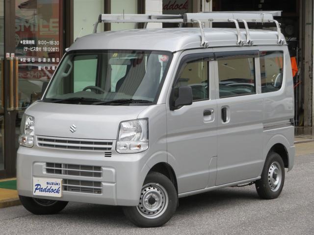 スズキ エブリイ PA 5MT 2WD エアコン パワステ 集中ドアロック ルーフキャリア