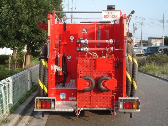 日野 消防ポンプ車・ワンオーナー