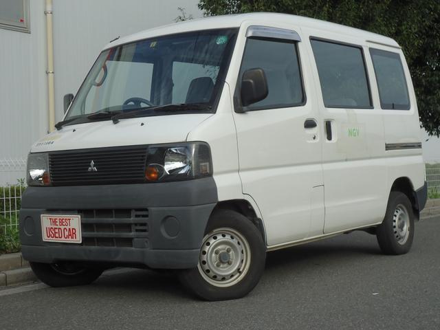 三菱 ミニキャブバン 天然ガスCNG車・ワンオーナー (なし)