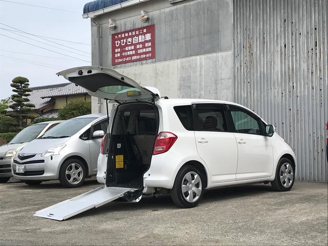 トヨタ G 福祉車両 車椅子スローパー エアサス車高調整機能